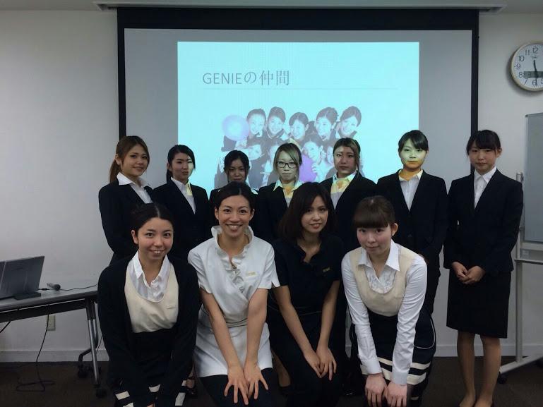 美容専門学校ヴィーナスアカデミーでセミナーを開催しました♪