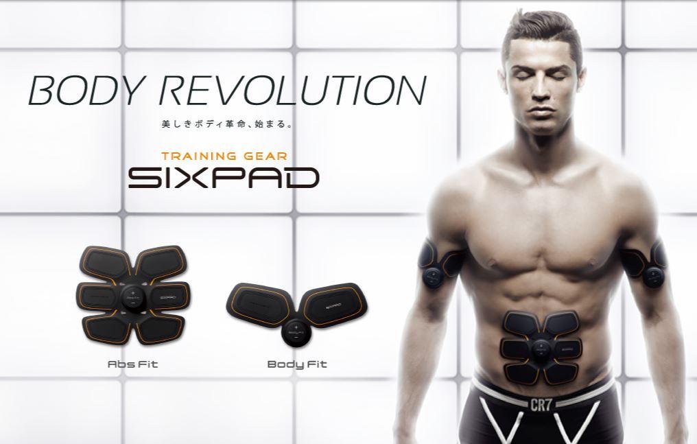 クリスティアーノロナウド選手で有名なSIXPAD×美腸プランナーが実現しました^o^