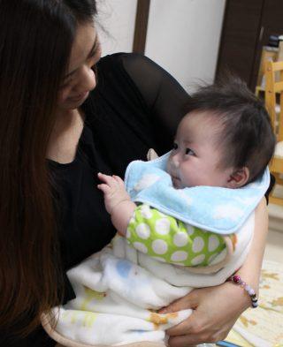赤ちゃんの腸活~リンゴ編~
