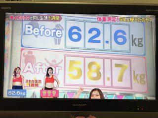 6/19 フジテレビ放送❗️もしズレ❗️美腸エステ